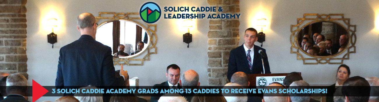 3 Solich grads earn Evans Scholarship