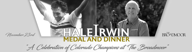 Hale Irwin Dinner Info